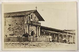 RPPC San Fransisco CA Mission Dolores California Entrance View Photo Postcard