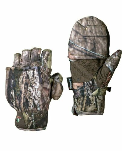 Pop-Top Gloves Men/'s Mossy Oak Break-Up Country 3M Thinsulate Various Size New!