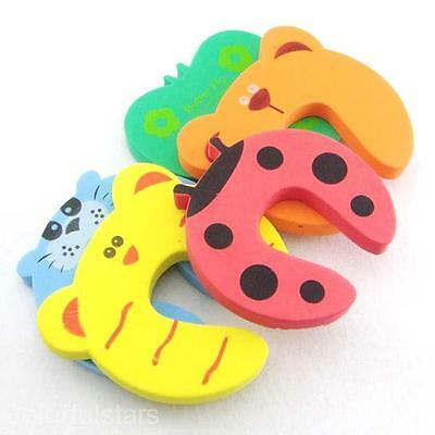 1pc Door Stopper Cushions Guard Lock Baby Kids Safety Protector Sponge Piece Pad