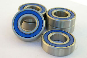 6000-2RS 6000RS SERIES STAINLESS RUBBER SEALED BEARING
