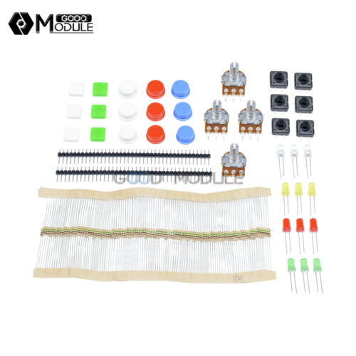 Electronic Parts Pack DIY KIT for ARDUINO Component Switch Potentiometer Button