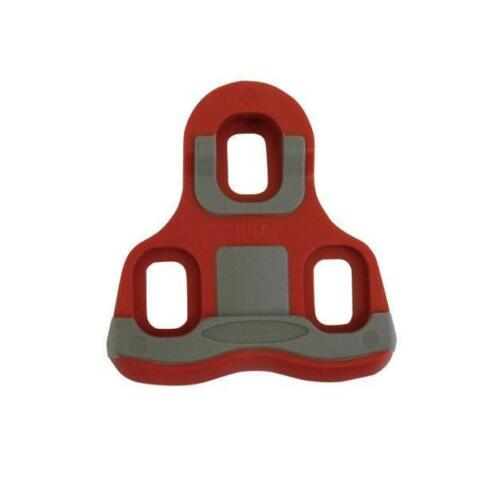 ETC Bike Pedal Cleats Lateral Float Look Keo Compatible 82g 6 Deg Red EPE957