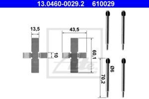 ATE 13.0460-0029.2 Zubehörsatz Scheibenbremsbelag
