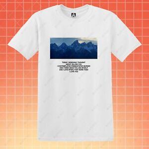 Details about Wyoming T-shirt Kanye Bipolar Hate Amazing Tee Killing Life  Ye Pablo Jay Z Top