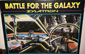 1986 Zylattron Battle for the Galaxy An Adventure in Space Game