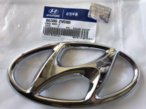 Front Grille Emblem Veloster Base 2012-2017 Genuine Hyundai H Mark Nameplate