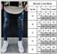 Mens Ripped Skinny Pants Biker Frayed Jeans Destroyed Casual Slim Denim Trousers
