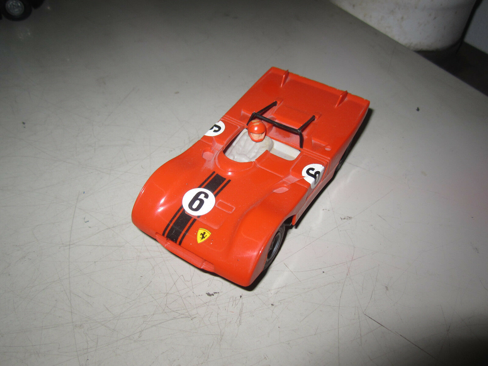 Carrera universal 132   Ferrari 312 DunkelOrange