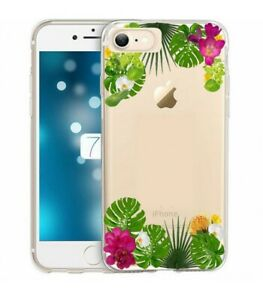 coque fleur tropical iphone 7