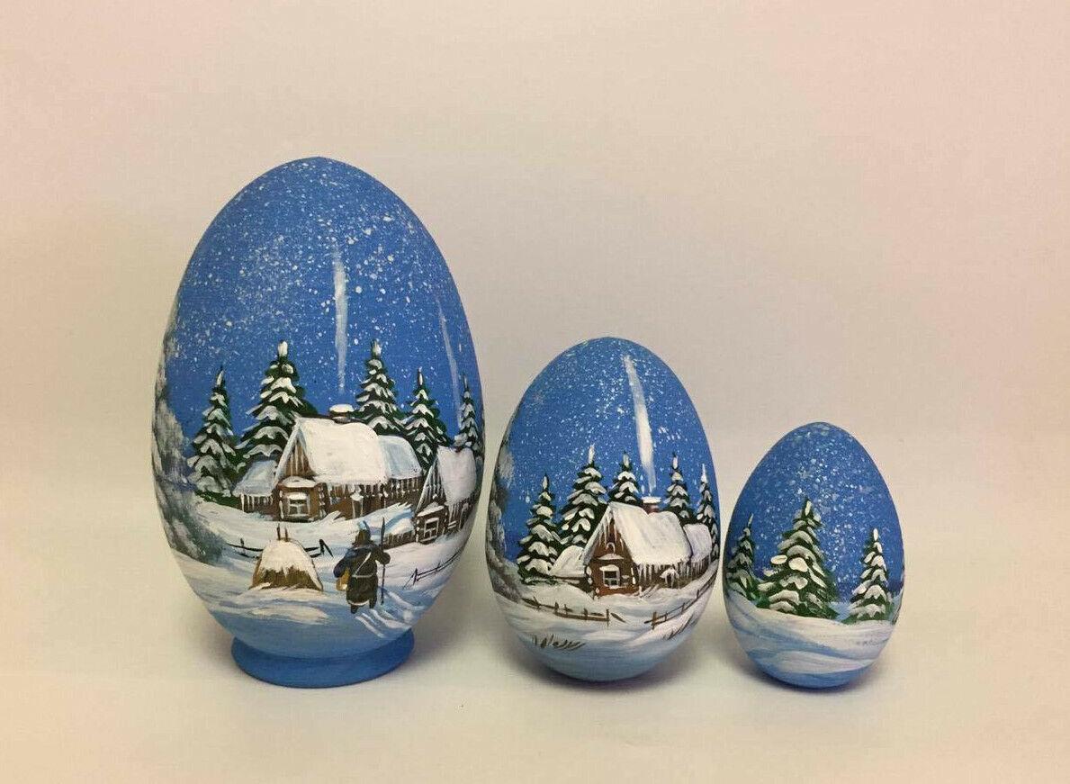 Russian  Nesting bambola Egg Matryoshka He Painted  1  prezzi all'ingrosso