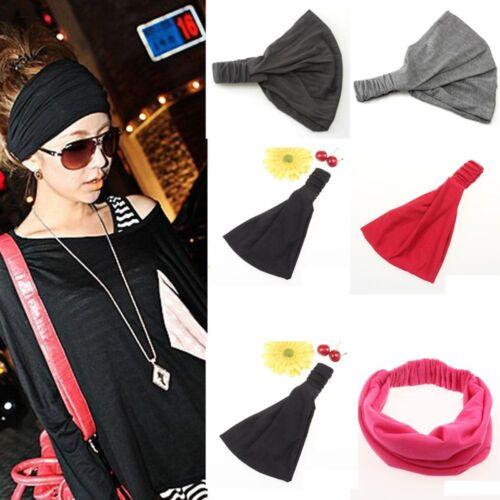 Gifts Hair Scraf Full Vintage Hair Accessories Headband Bandanas Wide Ribbon