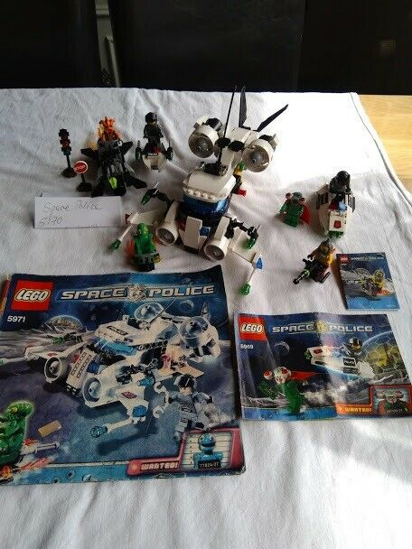 Lego Space Police, 5973