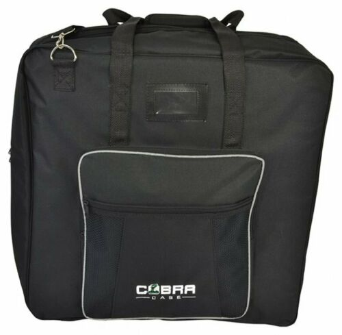 Misure 560 x 560 x 180 mm Cobra Large Bag Borsa Imbottita x Protezione Mixer