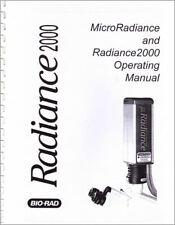 Biorad Radiance 2000 And Microradiance Operating Manual