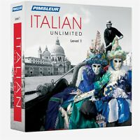 Pimsleur Unlimited Italian Language Course 30 Lessons