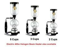Syphon / Siphon Vacuum Coffee Maker - 5 Cups