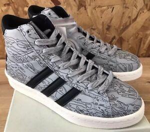 Adidas-Jabbar-Mid-X-Undefeated-Black-White-Orange-Sz-6-5-NIB-B33982