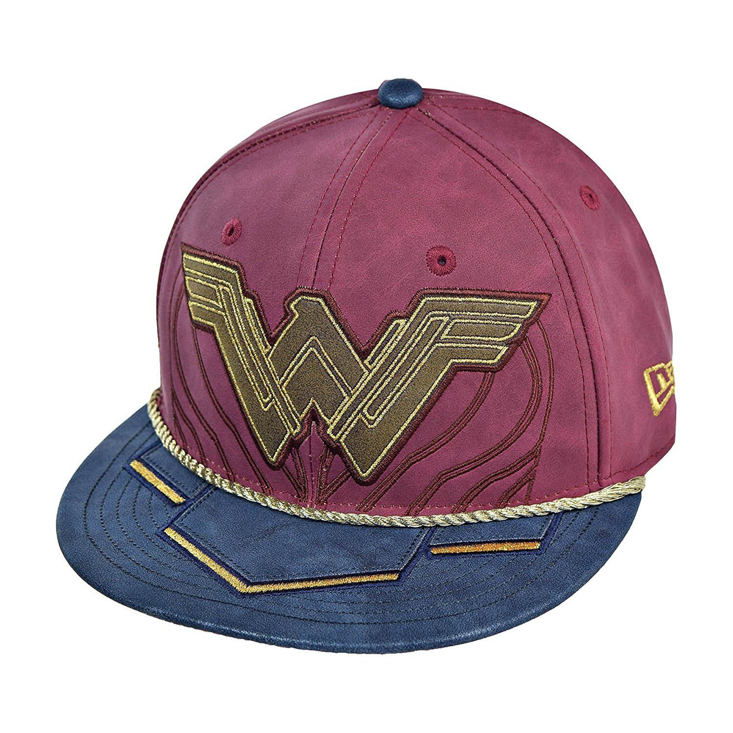 DC Comics Wonder Woman Battel Armor Symbol 5950 Fitted Baseball Cap