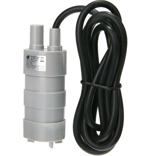 Details about  /12V DC  5m 1500L//H Brushless Submersible Motor Water Pump Yard Garden
