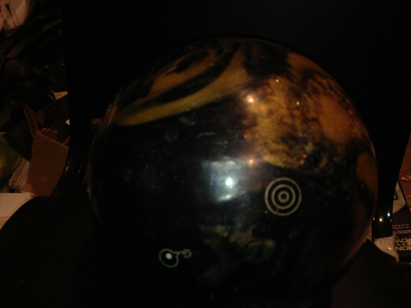BOWLING BALL EBONITE 16LB MARTRIX DYNASTY NEW NO BOX