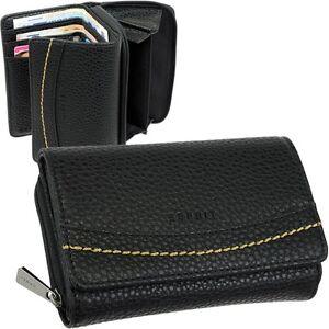 ESPRIT-Damen-Geldboerse-Brieftasche-Geldbeutel-Portemonnaie-Geldtasche-Schwarz