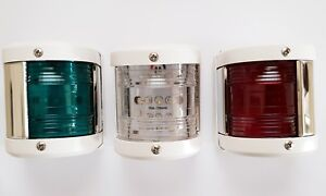 Set of 3 Callisto Marine LED Navigation Light 12V