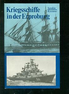 Les Navires De Guerre à L'essai-afficher Le Titre D'origine CaractéRistiques Exceptionnelles