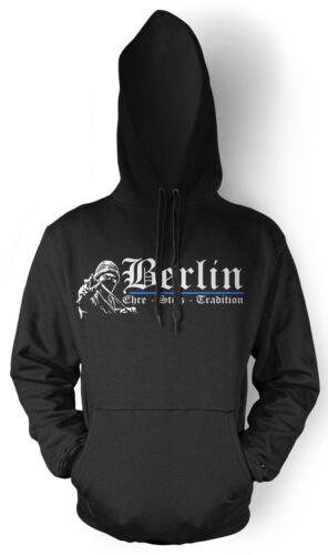 uomo Berlin cappuccio Felpa Pride Honor da con OHwUq