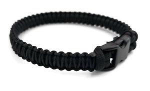 Handmade Paracord Bracelet 550 Black//Pink Micro Cord 550 U.S Seller