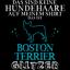 Boston Terrier Glitzer Herren T-Shirt Spruch Geschenk Idee Rasse Hunde Besitzer