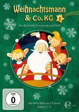 2 DVDs * WEIHNACHTSMANN & CO. KG - Box 1 (Folgen 1-6) # NEU OVP &