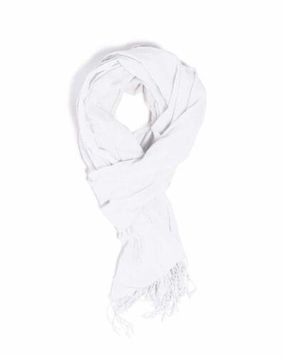 Chèche Blanc coton bio Amalric