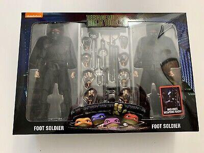 Neca Reel Toys Foot Clan Foot Soldiers 2 Pack Teenage Mutant Ninja Turtles