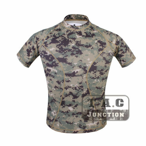 Emerson Skin-tight Base Layer Camo Outdoor Sports Running Hunting Tactical Shirt