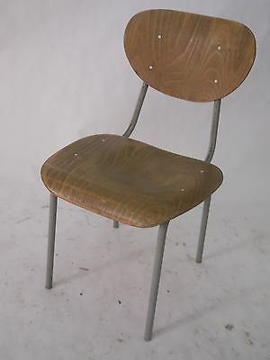 Lovely Cool Industrial School Chairs Cute Sold Individually.