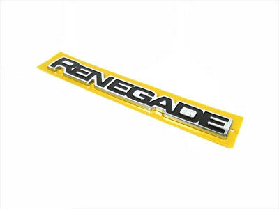 H Mopar 68267207AA fits 2015 Jeep Renegade Deck Lid Emblem-VIN