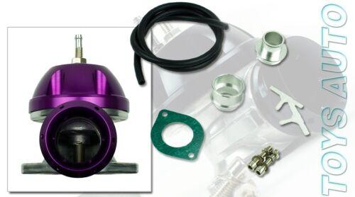 Rev9 Type RS v2 Recirculate Turbo Turbocharger BOV Blow Off Valve Flange Purple