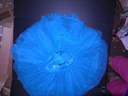 NWOT short ballet costume attached tutu ladies soutache rosette bodice 2 Colors