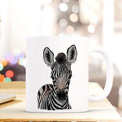 Klug Tasse Becher Zebra Tiermotiv Kaffeetasse Bedruckt Kaffeebecher Tigerpferd Ts757 Tassen