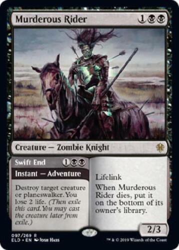 Murderous Rider 097//269 Near Mint MTG Throne of Eldraine