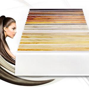 Neuheit-70mm-Fussleisten-amp-Zubehoerteil-2-5m-SOCKELLEISTEN-Laminatleisten-PVC
