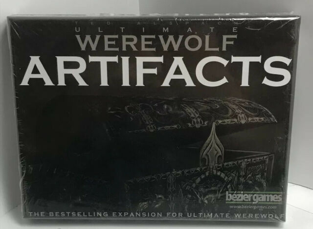 Ultimate Werewolf: Artifacts Expansion Board Game