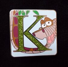 Disney Parks Alphabet Mystery Collection - K - Kaa Chaser Pin ONLY NEW 2015