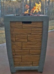 Deeco Dm Gfp 008a Lr Brick Column Gas Fire Pit 19 7 Quot W X