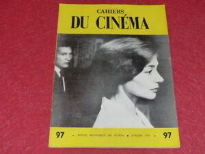 REVUE-LES-CAHIERS-DU-CINEMA-N-97-JUILL-1959-RESNAIS-HIROSHIMA-EO-1rst-Print