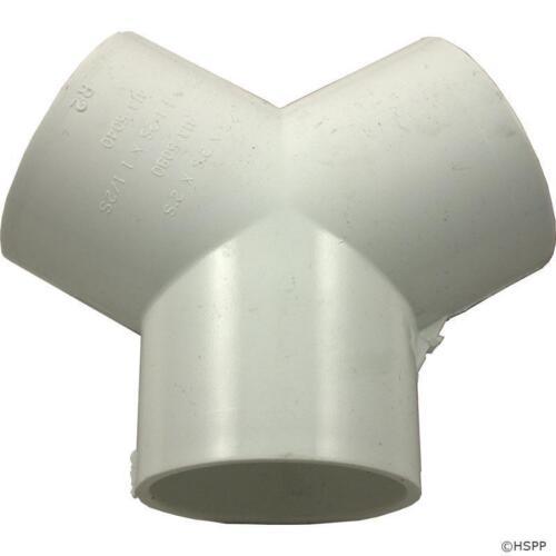 """Pool Spa Hot Tub PVC Manifold 120° Wye Y Split 2/"""" 413-5080"""