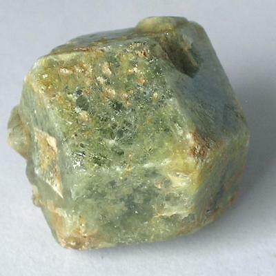 Grüner GROSSULAR  GRANAT Kristall ca.  22 x 21 x 18mm ~ MALI ~ natur No12