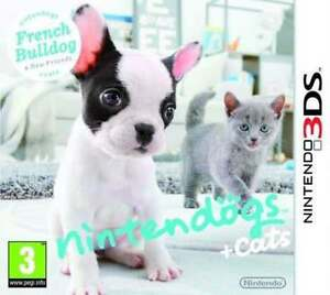 NINTENDO-3DS-NINTENDOGS-CATS-BULLDOG-FRANCESE-VERSIONE-ITALIANA-NUOVO