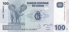 Kongo / Congo 100 Francs 2007 Elefant Pick 98