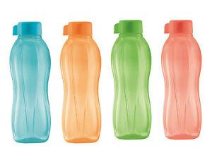 Tupperware-EcoEasy-Trinkflasche-500ml-Eco-Okoflasche-Lachs-Gruen-Blau-Mango
